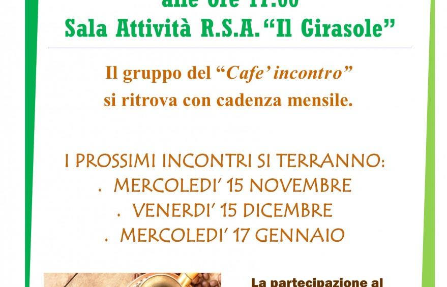 locandina cafe incontro 1 ottobre
